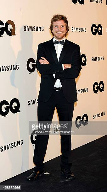 Alvaro de la Lama attends the 'GQ Men Of The Year awards 2014' at Palace hotel on November 3 2014 in Madrid Spain