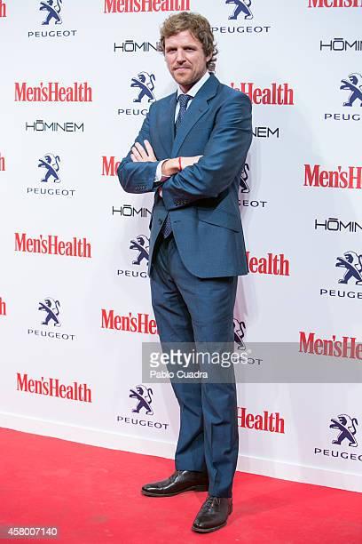 Alvaro de la Lama attends the Men's Health Awards Gala at Goya Theatre on October 28 2014 in Madrid Spain