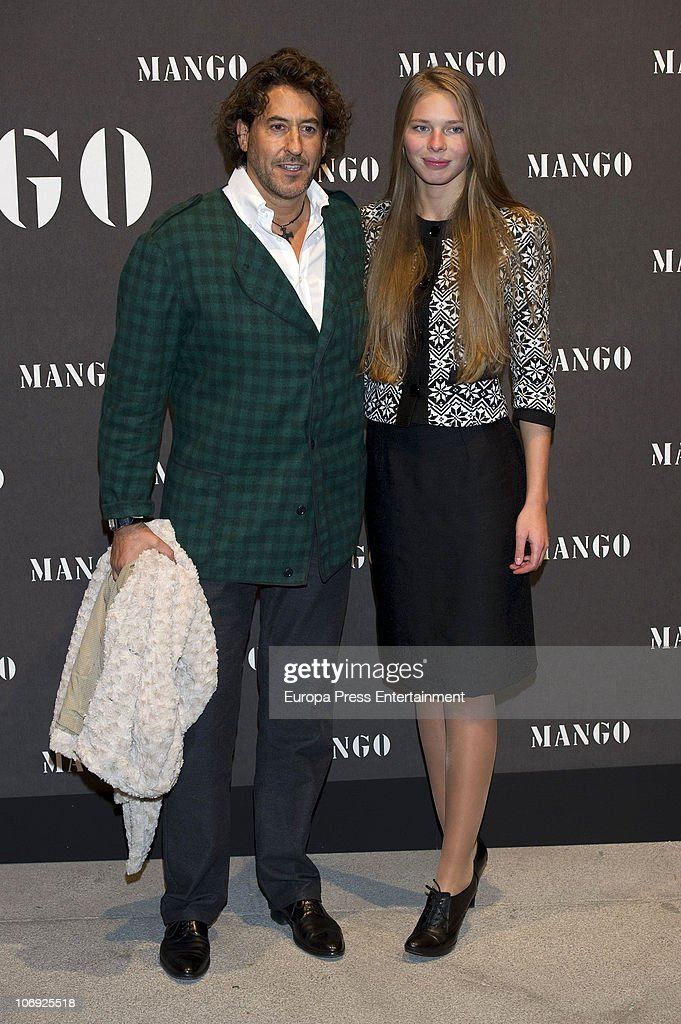 Alvaro de Marichalar and Ekaterina Anikieva attend the launch of Mango new spring/summer 2011 collection at the Palacio de Cibeles on November 16, 2010 in Madrid, Spain.