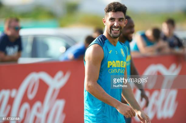 Alvaro Gonzalez during the first week of Villarreal CF training session at Ciudad Deportiva of Miralcamp July 14 in Vilareal Spain