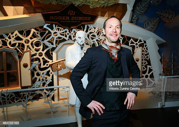 Alvaro Maggini poses during Roger Dubuis at the SIHH 2014 day 2 on January 21 2014 in Geneva Switzerland
