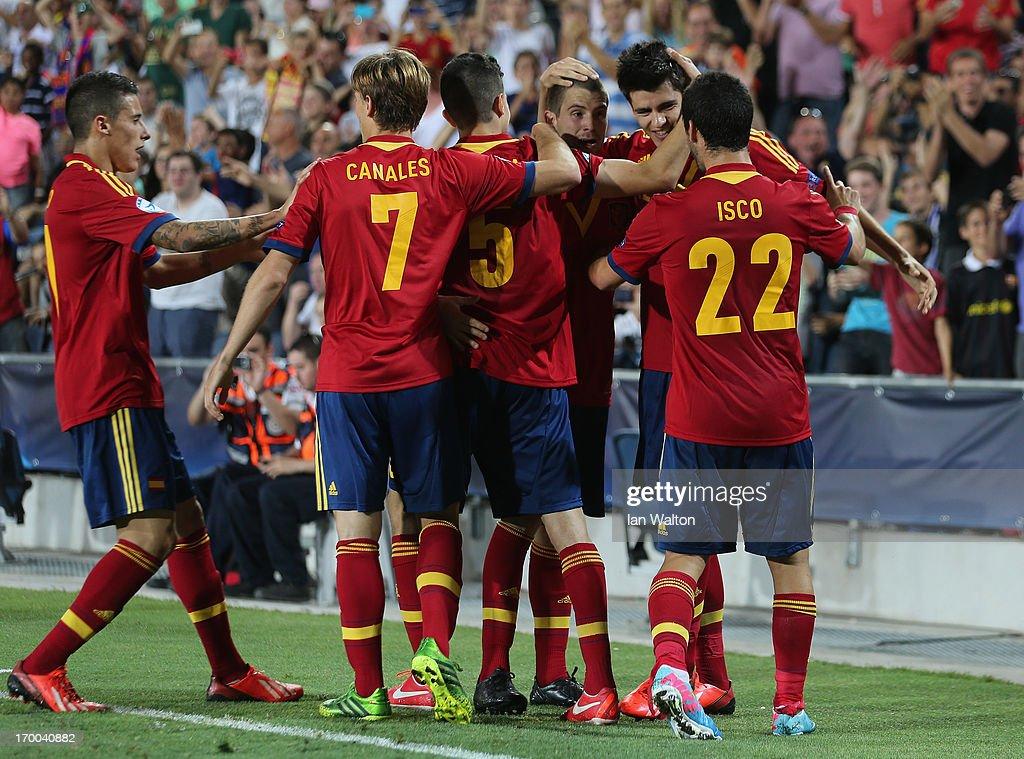 Spain v Russia - UEFA European U21 Championships: Group B