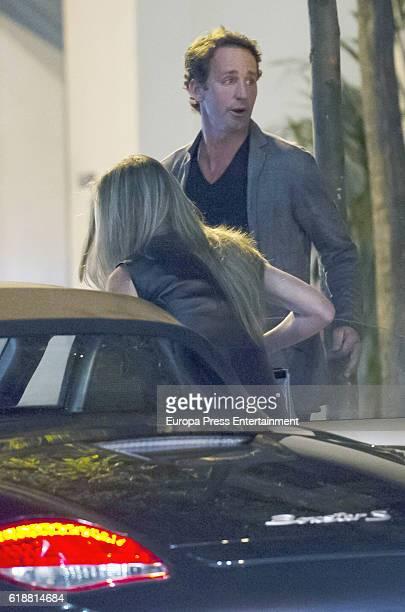 Alvaro Munoz Escassi and Raquel Bernal is seen on September 19 2016 in Madrid Spain