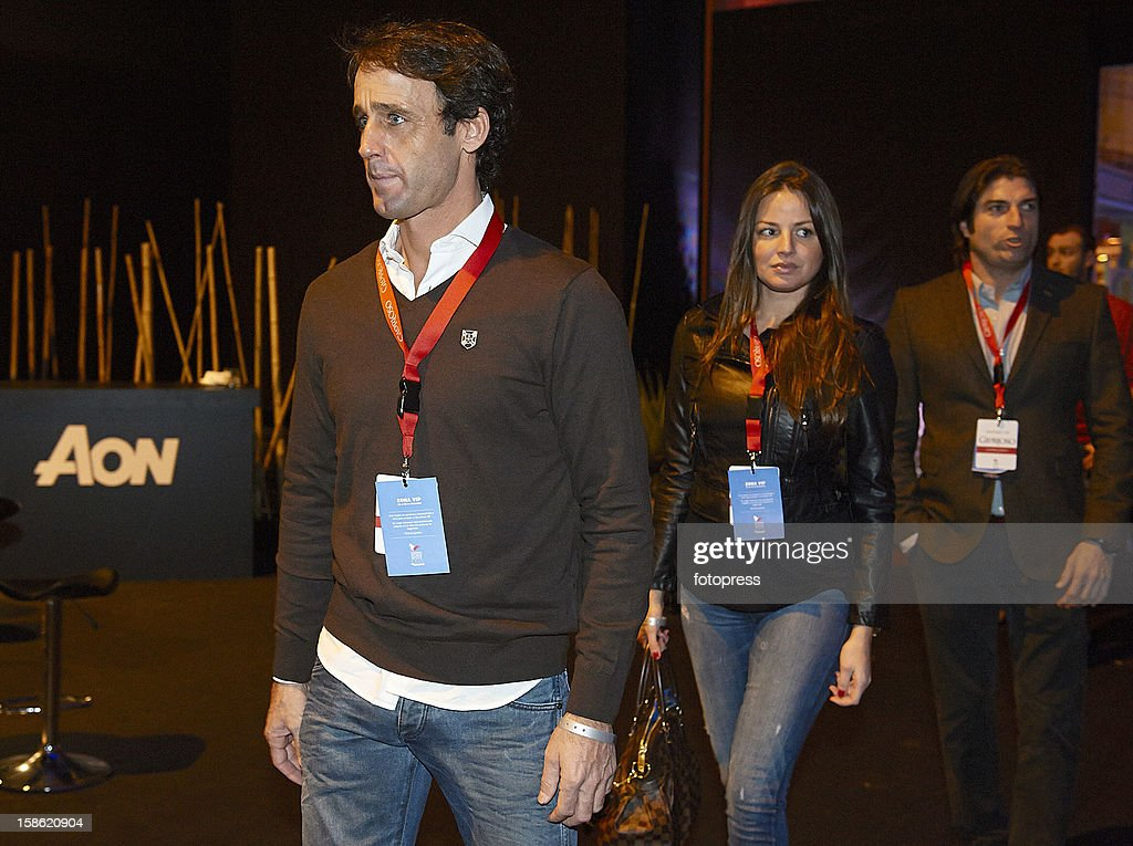 Alvaro Munoz Escassi attends the Madrid Horse Week 2012 at IFEMA on December 21, 2012 in Madrid, Spain.
