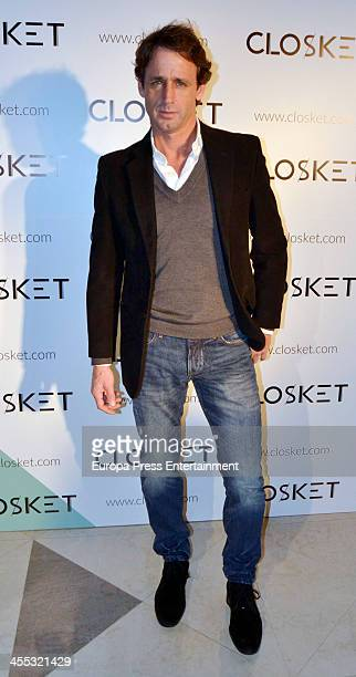 Alvaro Munoz Escassi attends the presentation of the fashion web 'Closket' on December 11 2013 in Madrid Spain