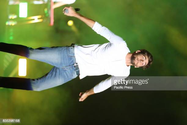 FLEGREA NAPOLI ITALIA ITALY Alvaro Soler in concert live at the Noisy Naples Fest Arena Flegrea in Naples