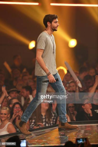 Alvaro Soler perform during the taping of the show 'Schlagerboom Das Internationale Schlagerfest' at Westfalenhalle on October 21 2016 in Dortmund...