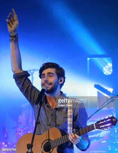 Alvaro Soler performs during a concert at Kesselhaus on March 18 2017 in Berlin Germany