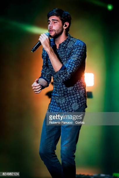 Alvaro Soler performs on stage on July 30 2017 in Rome Italy
