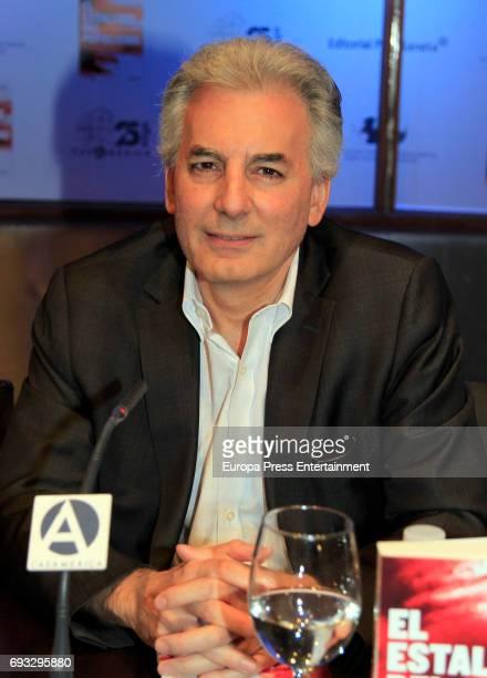 Alvaro Vargas Llosa attends 'El Estallido Del Populismo' book presentation at Casa de America on June 6 2017 in Madrid Spain