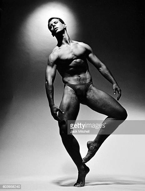 Alvin Ailey dancer Jonathan Riseling 1991