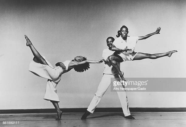 Alvin Ailey was an AfricanAmerican choreographer and activist who founded the Alvin Ailey American Dance Theater in New York City on stage with two...