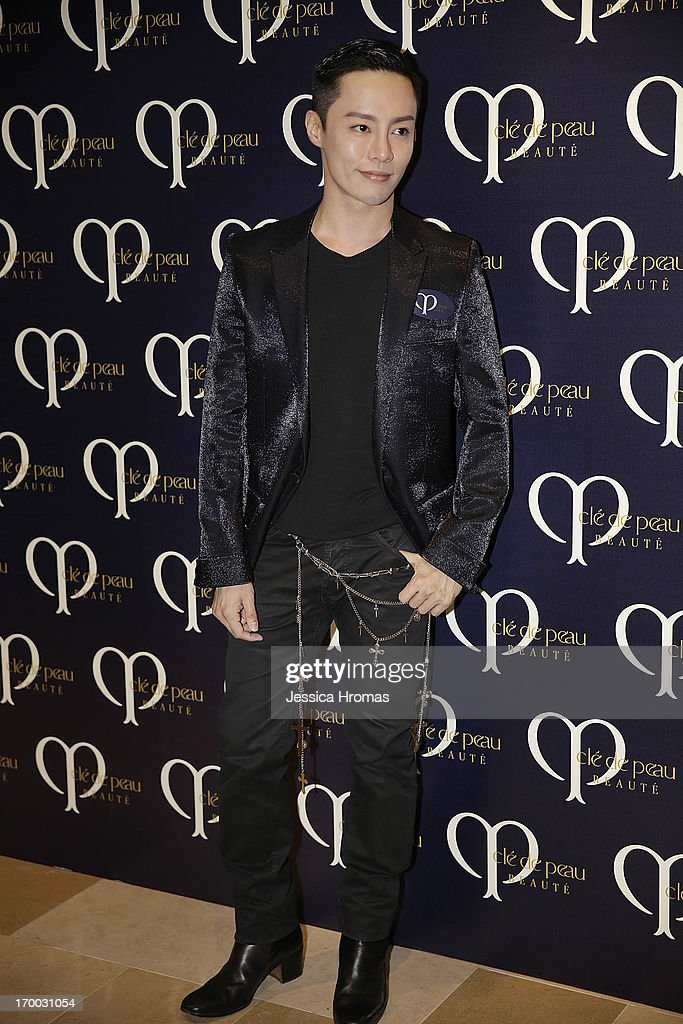 Alvin Goh attends the Shiseido 'Cle De Peau Beaute' gala dinner at ArtisTree on June 6, 2013 in Hong Kong, Hong Kong.