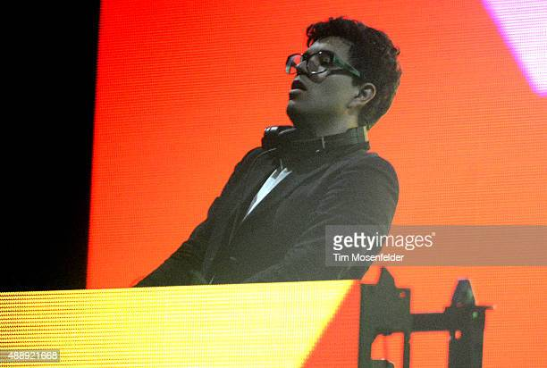 Alvin Risk performs at the Bill Graham Civic Auditorium on September 16 2015 in San Francisco California