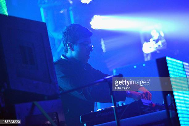 Alvin Risk performs onstage at the AM Only Music Showcase during the 2013 SXSW Music Film Interactive Festival at La Zona Rosa on March 14 2013 in...