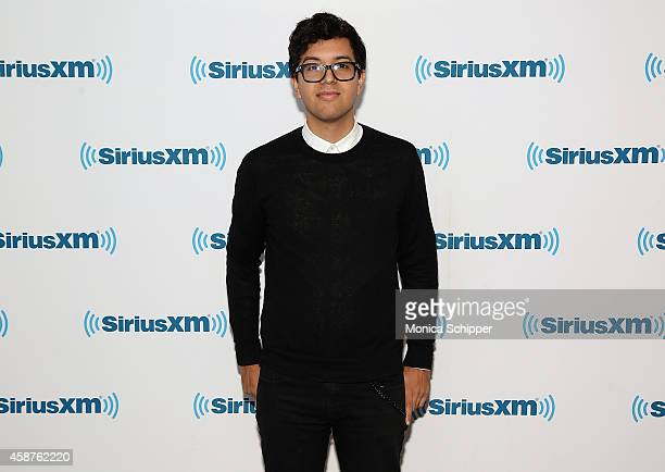 Alvin Risk visits SiriusXM Studios on November 10 2014 in New York City