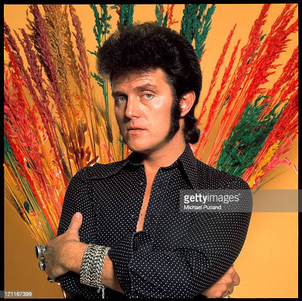 Alvin Stardust studio portrait London 1975