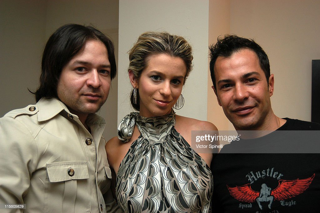 Alvin Valley Ana Cristina and Ricardo Rojas during Ricardo Rojas Hair Suite at the W Hotel at W Hotel in Westwood California United States