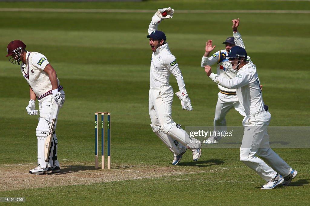 Somerset v Yorkshire - LV County Championship