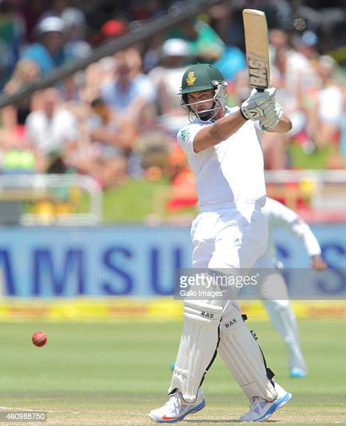 Alviro Petersen of the Proteas during day 2 of the 3rd Test between South Africa and West Indies at Sahara Park Newlands on January 03 2015 in Cape...
