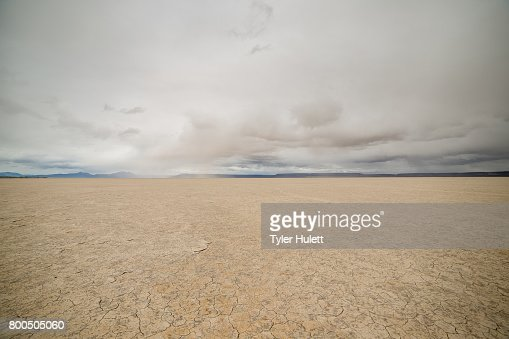 Alvord Desert Playa : Stock Photo