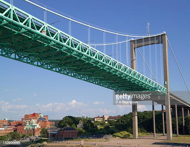 Alvsborgsbron Suspension Bridge, Gota River, Gothenburg, Sweden