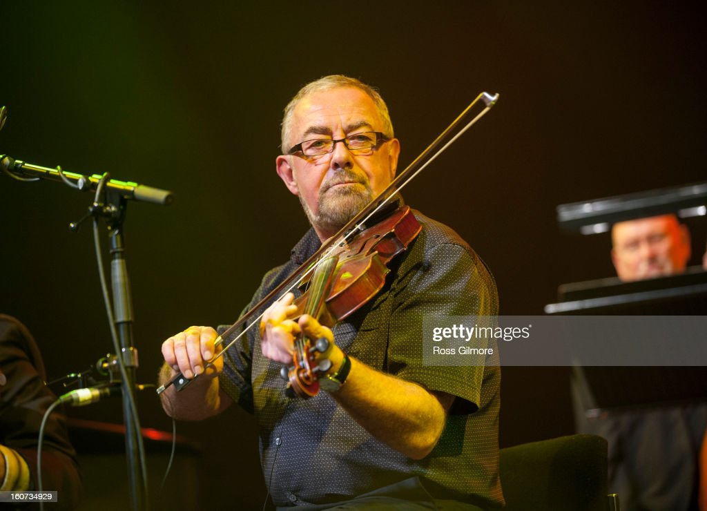 Aly Bain performs on stage as part of Transatlantic Sessions at Celtic Connections Festival 2013 at Glasgow Royal Concert Hall on February 1, 2013 in Glasgow, Scotland.