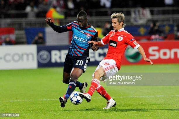 Aly CISSOKHO / Fabio COENTRAO Lyon / Benfica Champions LEague
