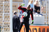 Aly Keita of Ostersunds FK during the allsvenskan match between Ostersunds FK and Jonkopings Sodra IF at Jamtkraft Arena on July 10 2016 in Ostersund...