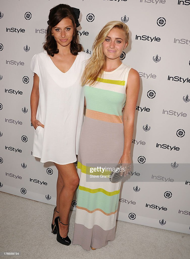Aly Michalka and AJ Michalka arrives at the 13th Annual InStyle Summer Soiree at Mondrian Los Angeles on August 14, 2013 in West Hollywood, California.