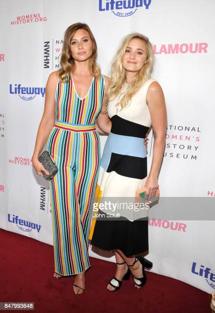 Aly Michalka and AJ Michalka at the Women Making History Awards at The Beverly Hilton Hotel on September 16 2017 in Beverly Hills California