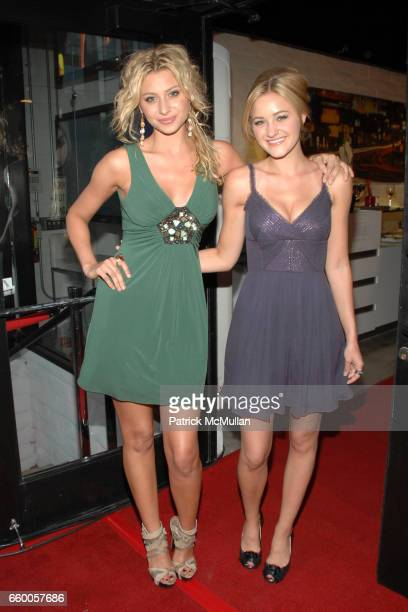 Aly Michalka and AJ Michalka attend Herve Leger by Max Azria at Live On Sunset Hosted by Hilary Duff at Live On Sunset on May 6 2009 in West...
