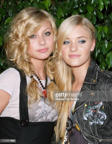 Aly Michalka and AJ Michalka during 2006 Children's Choice Awards at Hollywood Palladium in Hollywood California United States
