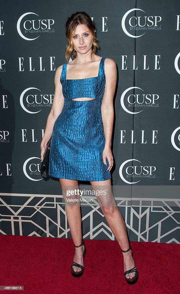 Aly Michalka arrives at ELLE's 5th Annual Women In Music Concert Celebration Presented by CUSP By Neiman Marcus at Avalon on April 22, 2014 in Hollywood, California.