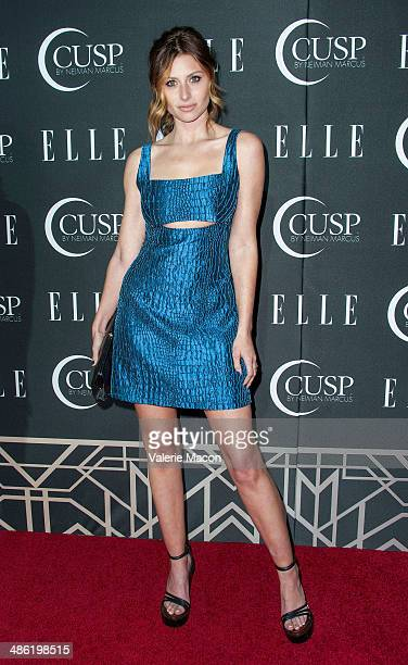 Aly Michalka arrives at ELLE's 5th Annual Women In Music Concert Celebration Presented by CUSP By Neiman Marcus at Avalon on April 22 2014 in...