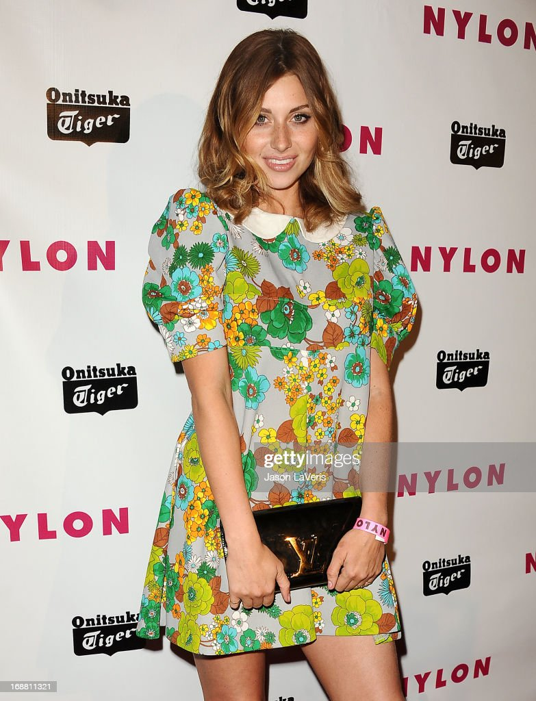 Aly Michalka attends Nylon Magazine's Young Hollywood issue event at The Roosevelt Hotel on May 14, 2013 in Hollywood, California.