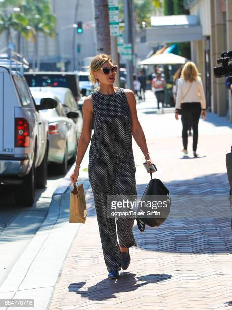 Aly Michalka is seen on April 04 2017 in Los Angeles California