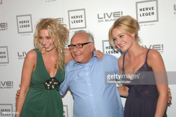 Aly Michalka Max Azria and AJ Michalka attend Herve Leger by Max Azria at Live On Sunset Hosted by Hilary Duff at Live On Sunset on May 6 2009 in...