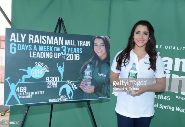 Aly Raisman attends Poland Spring World Champ Aly Raisman Inspire Kids at Stop Shop on June 8 2013 in Toms River New Jersey
