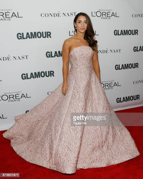 Aly Raisman attends the 2017 Glamour Women Of The Year Awards at Kings Theatre on November 13 2017 in New York City