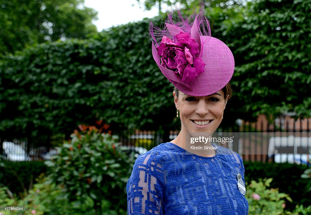 Aly Rowell attends Royal Ascot 2015 at Ascot racecourse on June 20, 2015 in Ascot, England.