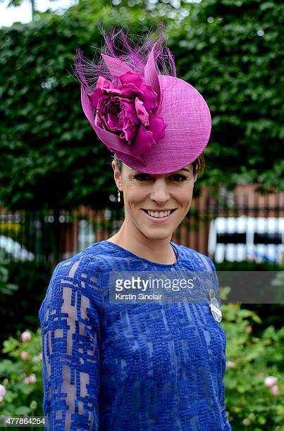 Aly Rowell attends Royal Ascot 2015 at Ascot racecourse on June 20 2015 in Ascot England