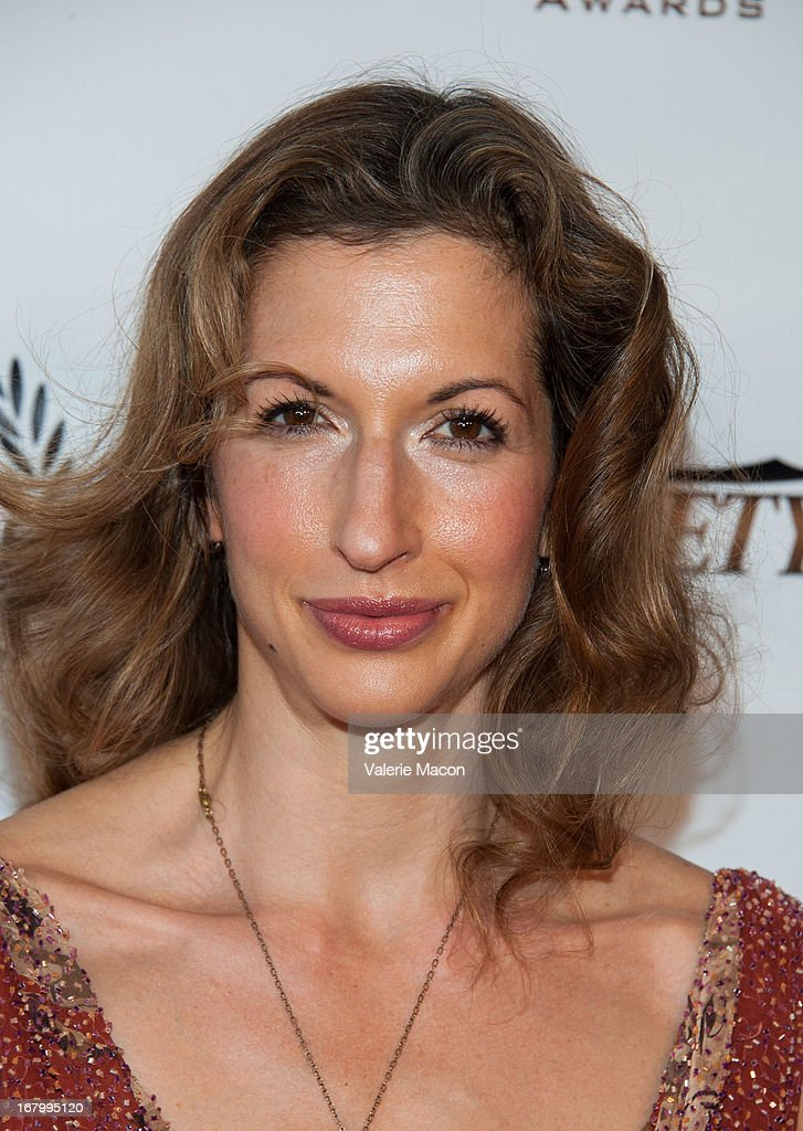 <a gi-track='captionPersonalityLinkClicked' href=/galleries/search?phrase=Alysia+Reiner&family=editorial&specificpeople=655685 ng-click='$event.stopPropagation()'>Alysia Reiner</a> arrives at the 14th Annual Golden Trailer Award at Saban Theatre on May 3, 2013 in Beverly Hills, California.
