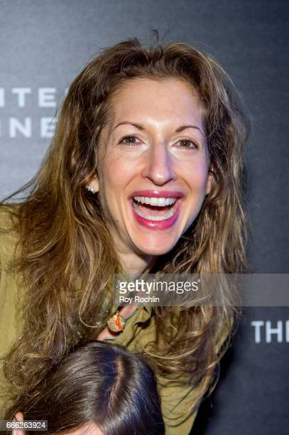 Alysia Reiner attends Disneynature with the Cinema Society host the premiere of 'Born in China' at Landmark Sunshine Cinema on April 8 2017 in New...