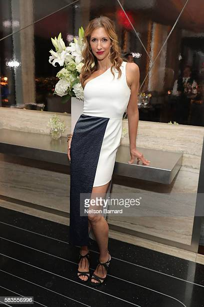Alysia Reiner attends the after party for Sony Pictures Classics' 'Equity' screening hosted by The Cinema Society with Bloomberg and Thomas Pink at...