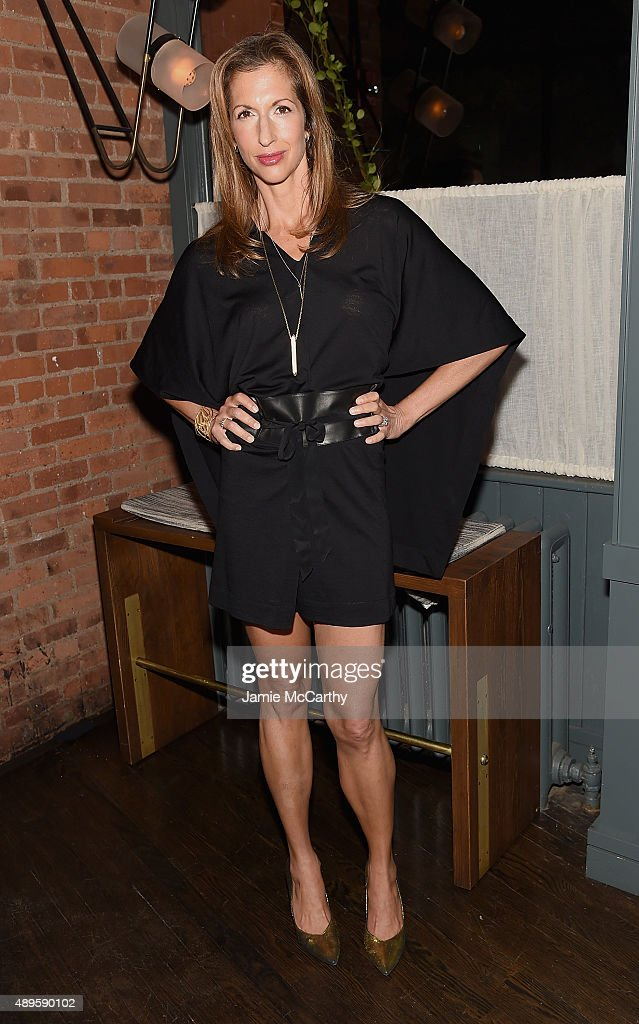 Alysia Reiner attends the after party for the screening of Warner Bros. Pictures 'The Intern' hosted by The Cinema Society And Ruffino on September 22, 2015 in New York City.