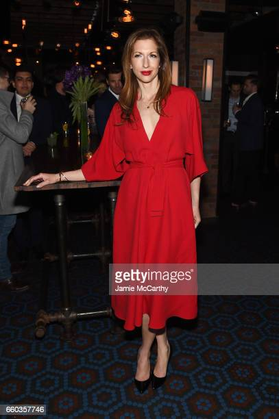 Alysia Reiner attends the 'Ghost In The Shell' premiere after party hosted by Paramount Pictures DreamWorks Pictures at The Ribbon on March 29 2017...