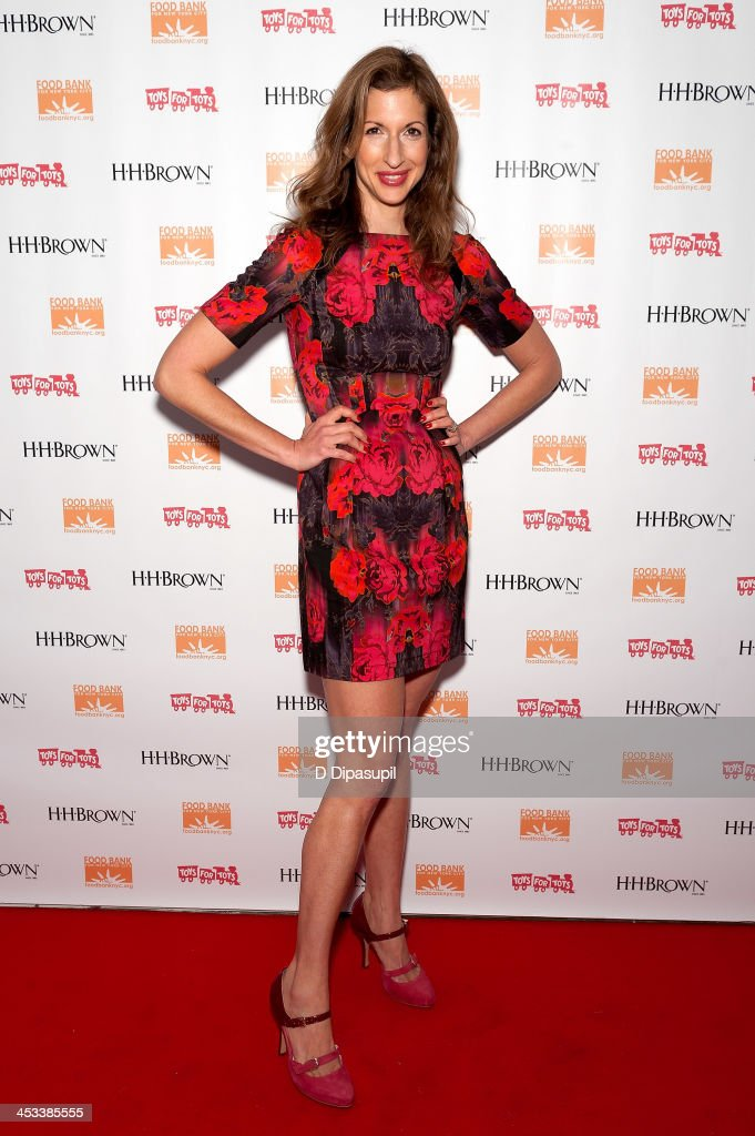 <a gi-track='captionPersonalityLinkClicked' href=/galleries/search?phrase=Alysia+Reiner&family=editorial&specificpeople=655685 ng-click='$event.stopPropagation()'>Alysia Reiner</a> attends the H.H. Brown Shoe Company Season Of Giving Holiday Party on December 3, 2013 in New York City.