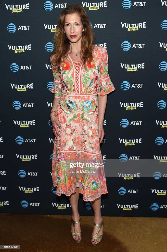 Alysia Reiner attends the Vulture Festival Opening Night Party Presented By AT&T at the Top of The Standard Hotel on May 19, 2017 in New York City.