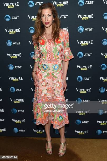 Alysia Reiner attends the Vulture Festival Opening Night Party Presented By ATT at the Top of The Standard Hotel on May 19 2017 in New York City